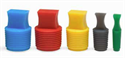 Picture for category INtherm® Ribbed Conical plug with handle